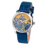 Van Gogh Swiss Watch Lady 10 Irises Horlogewatch.nl