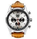 Marchand Tourer Chrono MK2 Tan Strap Horlogewatch.nl