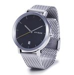 Hygge 2203 Silver Black MSM2203C(CH) Horlogewatch.nl