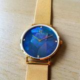 Paul Rich Heart Of The Ocean Glam Gold Mesh Horlogewatch.nl