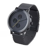 Hygge 2204 Black MSM2204BC(BK) Chronograph Horlogewatch.nl