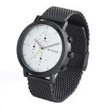 Hygge 2204 Black / Silver MSM2204BC(CH) Chronograph Horlogewatch.nl