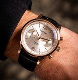 Vescari Chestor Rosegold Silver Black Croco Horlogewatch.nl