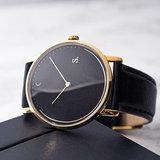 Sandell Night Signature Black Leather Horlogewatch.nl