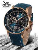 Vostok Europe Anchar Chronograph Quartz Bronze 6S21-510O586 Horlogewatch.nl