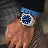 Paul Rich Barons Blue Signature Ocean Blue Horlogewatch.nl
