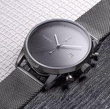 Tayroc TXM085 Grey Meshband Horlogewatch.nl