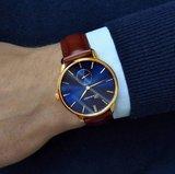 Bonvier Navona Blue Gold BW023 horloge Horlogewatch.nl