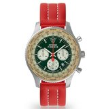 Detomaso Firenze DT1045-B-894 XXL Silver Green Horlogewatch.nl