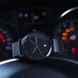 Hygge 2203 Black Mesh MSM2203BC(BK) Horlogewatch.nl