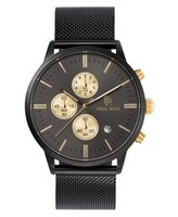 Paul Rich Mesh Chrono Black Gold