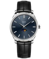 Maen Watch Brooklyn 39 Moonphase - Midnight Blue