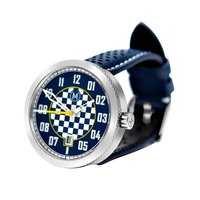 Marchand Blue And White Automatic Legacy