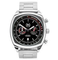 Marchand Classic Driver Chrono Metal Strap