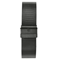 Paul Rich Horlogeband Hamptons Black Mesh 20 mm