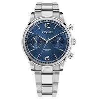 Vescari Chestor Steel Blue - Steel Bracelet