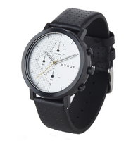 Hygge 2204 Black / Silver MSL2204BC(CH) Chronograph