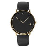 Sandell Night Signature - Black Leather