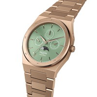 Valuchi Lunar Calendar Rose Gold Green