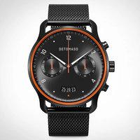 Detomaso Sorpasso Chronograph Limited Edition Velocità Black Orange D02-23-24