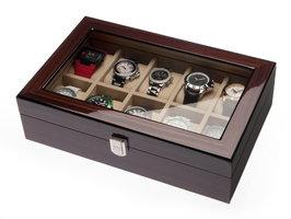 Detomaso Horlogebox W-053-B Mahonie