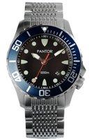 Pantor Watch Seahorse Blue Bezel