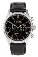 Vescari Watch Heritage Chronograph Black