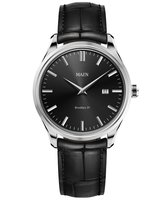 Maen Watch Brooklyn 39 Date - Jet Black
