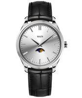 Maen Watch Brooklyn 39 Moonphase - Ice Grey