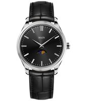 Maen Watch Brooklyn 39 Moonphase - Jet Black