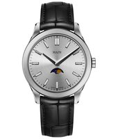 Maen Watch Manhattan 40 Moonphase Brushed - Ice Grey Limited Edition