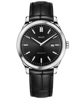 Maen Watch Manhattan 40 Date - Jet Black