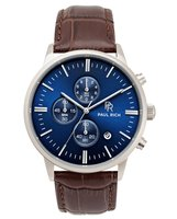 Paul Rich Mariner Brown Leather Chrono