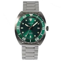 Pantor Watch Sealion Green Stainless Steel