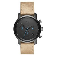 MVMT Chrono Gunmetal Sandstone 40mm D-MC02-GML