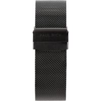 Paul Rich Horlogeband Chrono Black Mesh 22 mm