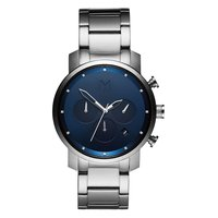 MVMT Chrono Navy Silver 40mm D-MC02-SBLU
