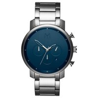 MVMT Chrono Midnight Silver 45mm D-­MC01-­SBLU