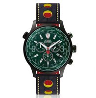 Detomaso Aurino Black Racing Green DT1061-N-820