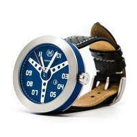 Marchand Blue With Black Strap Debonair