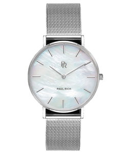 Paul Rich Beverly Silver Mesh Glam Horlogewatch.nl