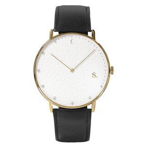 Sandell Bright Day Black Leather Horlogewatch.nl