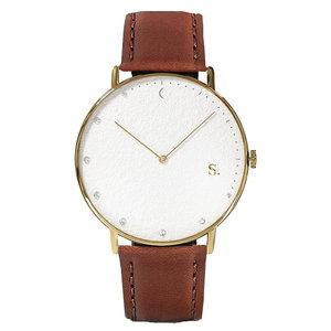 Sandell Bright Day Brown Leather Horlogewatch.nl