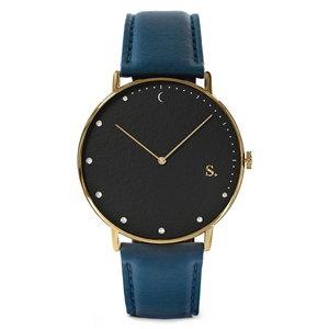 Sandell Bright Night Blue Vegan Horlogewatch.nl