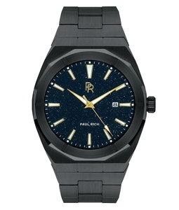 Paul Rich Star Dust Black Automatic Horlogewatch.nl