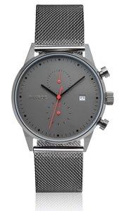 Tayroc TXM086 Grey Meshband Horlogewatch.nl