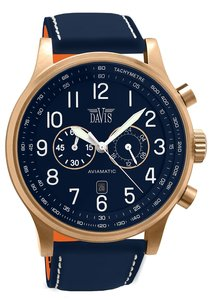 Davis 1945 Aviamatic Horloge Horlogewatch.nl