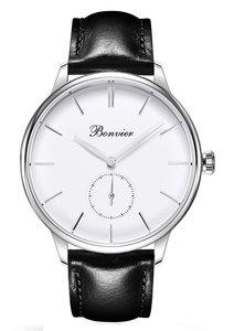 Bonvier Navona White Silver BW022 Horlogewatch.nl