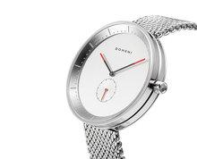 Domeni Co SSM01 signature series silver white dial Horlogewatch.nl