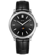 Maen Watch Manhattan 40 Moonphase Brushed Jet Black Horlogewatch.nl